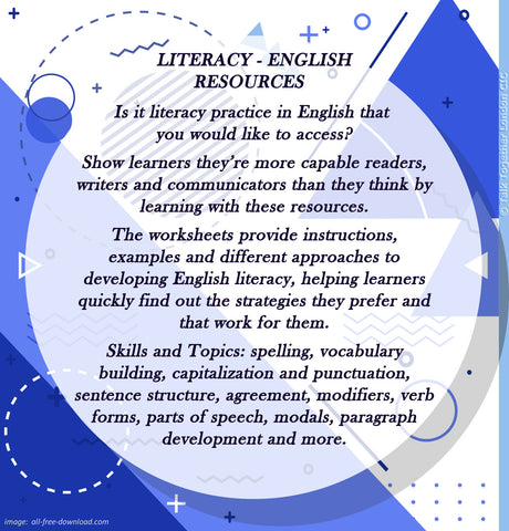 TTLCIC - English Literacy Resources