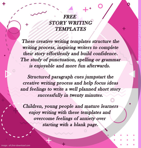 TTLCIC - FREE Creative Writing Template