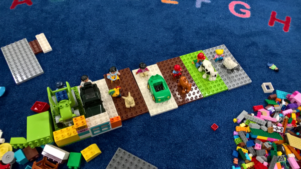 TTLCIC - Library Lego Stories