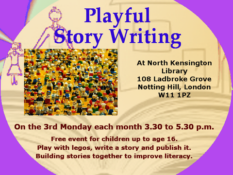 Lego Stories at North Kensington Library