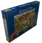 Alphabet Farm Puzzle (500 Pieces)