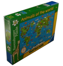 Load image into Gallery viewer, Animals of the World Puzzle (60 Pieces)