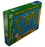 Animals of the World Puzzle (60 Pieces)
