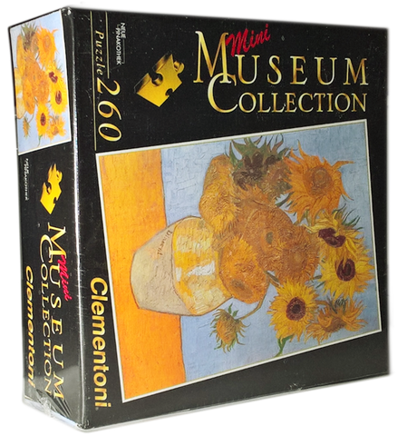 Sunflowers by Van Gogh Puzzle (Mini Museum Collection)