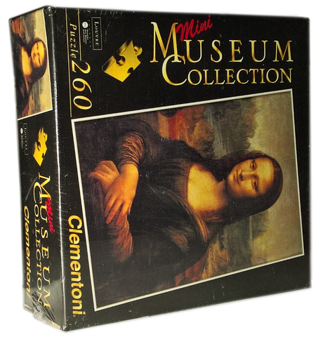 Mona Lisa by Leonardo Puzzle (Mini Museum Collection)