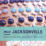 Cardinal House Keychains featured by West Elm
