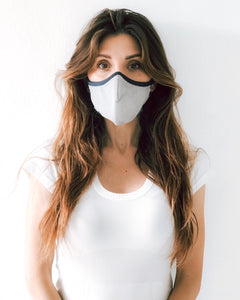 Performance 4-Layer mask.  Comfortable, unisex, adjustable.  Please see CDC guidelines for use on children