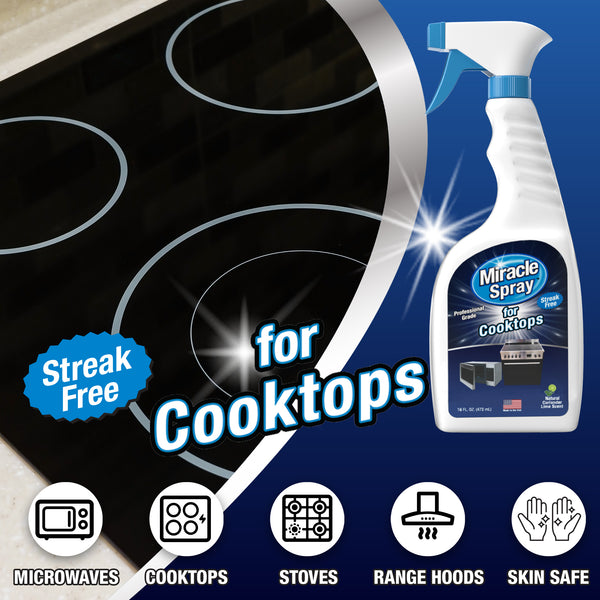 MiracleSpray for Microwave & Cooktop