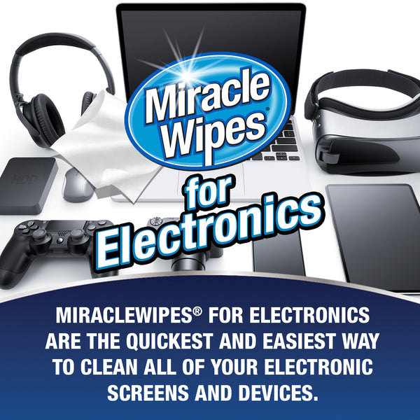 MiracleWipes for Electronics (30 Count)