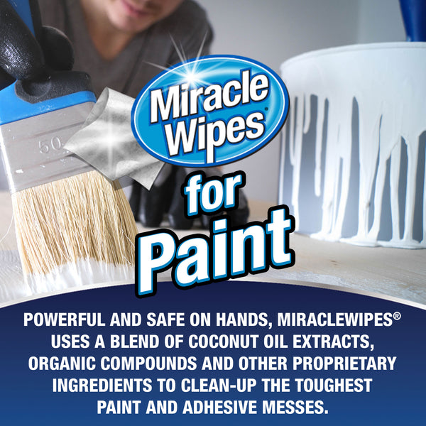 MiracleWipes for Paint - 60 Ct
