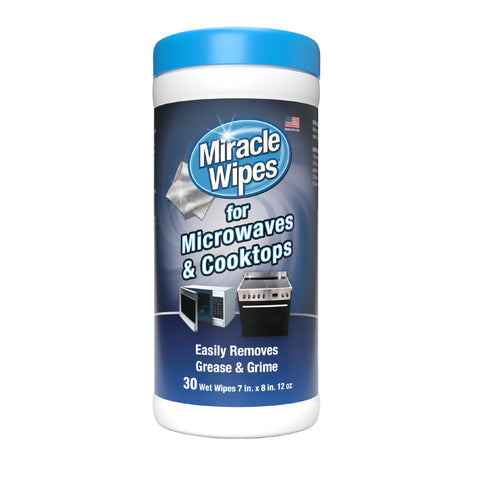 MiracleWipes for Microwaves and Cooktop (30 Count)