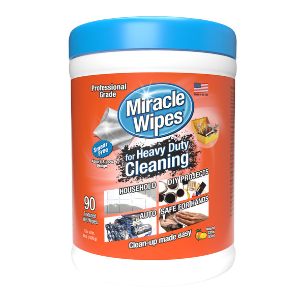 MiracleWipes for Heavy Duty (90 Count)