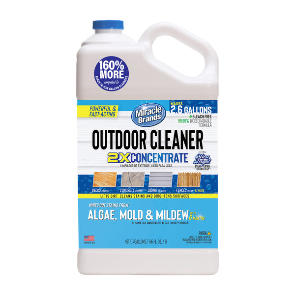 Outdoor Cleaner Concentrate (1.3 Gallon)