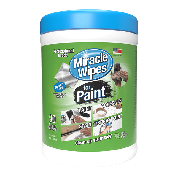 MiracleWipes for Paint (60 Count)