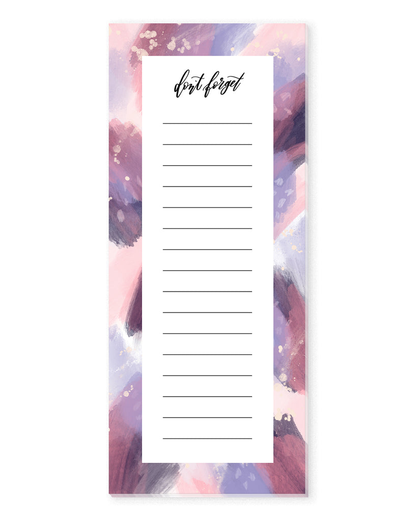 Unicorn Galaxy List Notepad