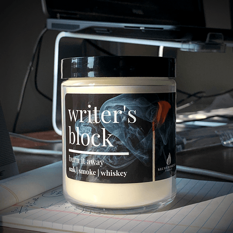 Writing candles