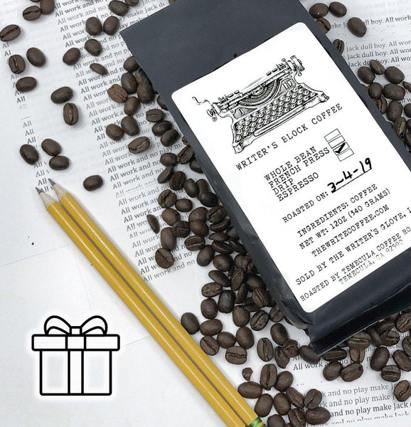 WRITER'S BLOCK COFFEE®<br>3-Month Gift Subscription