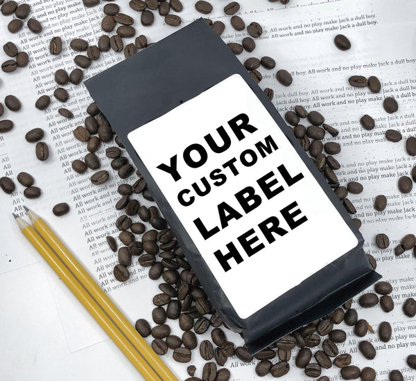 Business Promotion: Custom-Branded Coffee - No Minimums