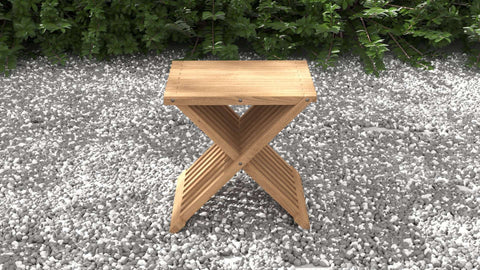 Teak Folding Coffee Table