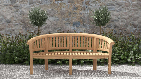 Gloucester Teak Bench 3 Seater