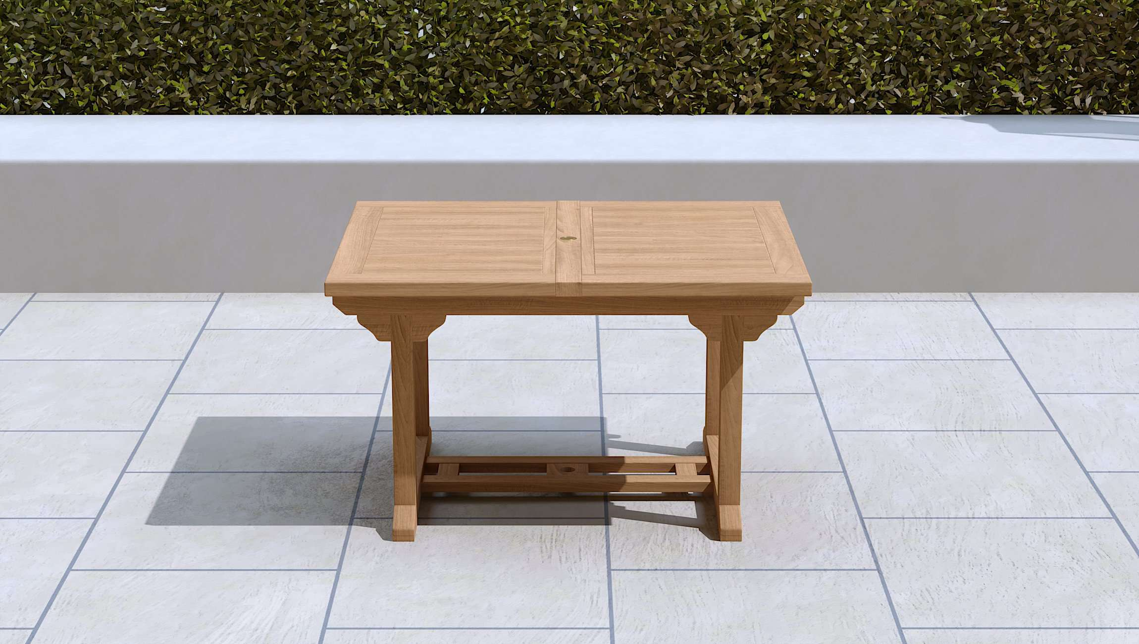 Garden Extending Dining Table & 6 Chairs  - Chic Teak® | Luxury Teak Furniture