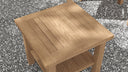 Teak Coffee Table 50x50cm  - Chic Teak® | Luxury Teak Furniture
