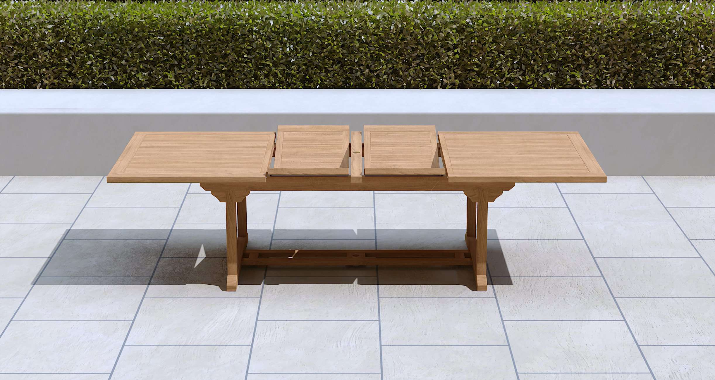 Garden Extending Dining Table & 10 Chairs  - Chic Teak® | Luxury Teak Furniture