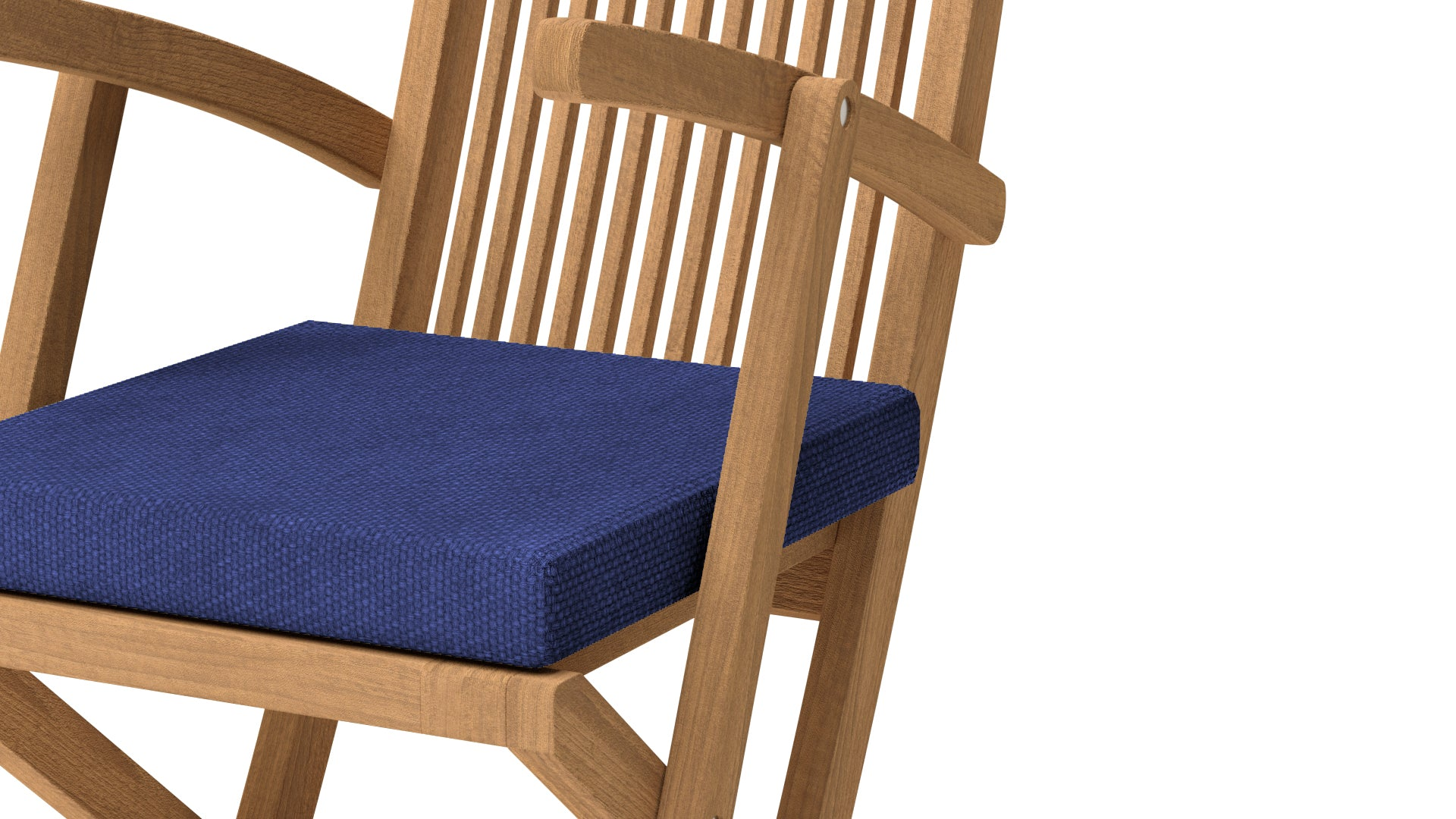 Lincoln Folding Teak Carver Chair  - Chic Teak® | Luxury Teak Furniture
