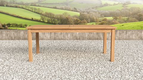 Garden Teak Table 200cm (8 Seater)