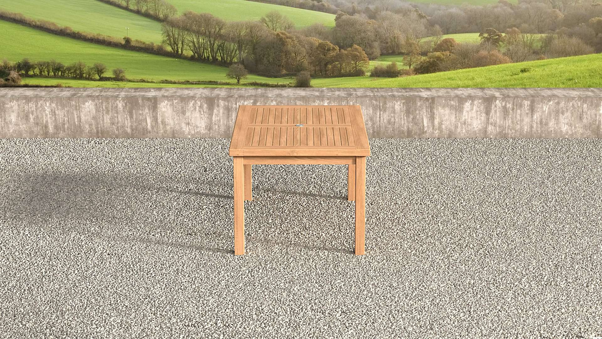 Garden Teak Table 160cm (6 Seater)  - Chic Teak® | Luxury Teak Furniture