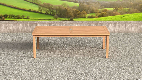 Garden Teak Table 240cm (10-12 Seater)