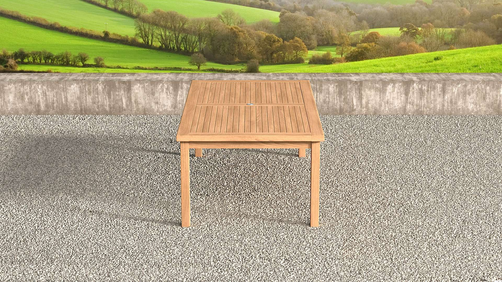 Garden Teak Table 240cm (10-12 Seater)  - Chic Teak® | Luxury Teak Furniture