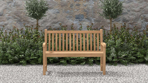 Durham Teak Bench 2 Seater