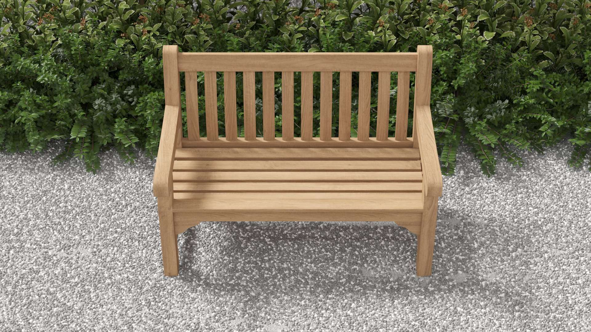 Salisbury Teak Bench 2 Seater  - Chic Teak® | Luxury Teak Furniture