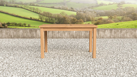 Garden Teak Table 140cm (6 Seater)