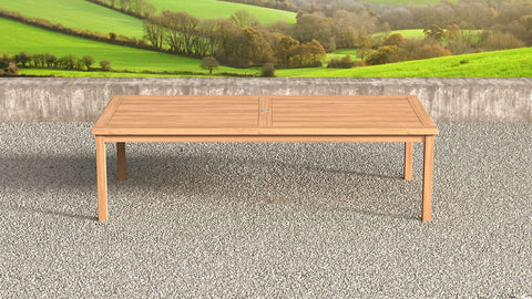 Garden Teak Table 280cm (12-14 Seater)