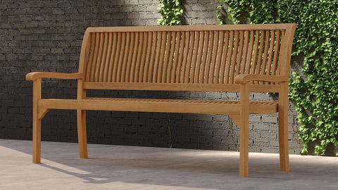Guildford Teak Bench 3 Seater
