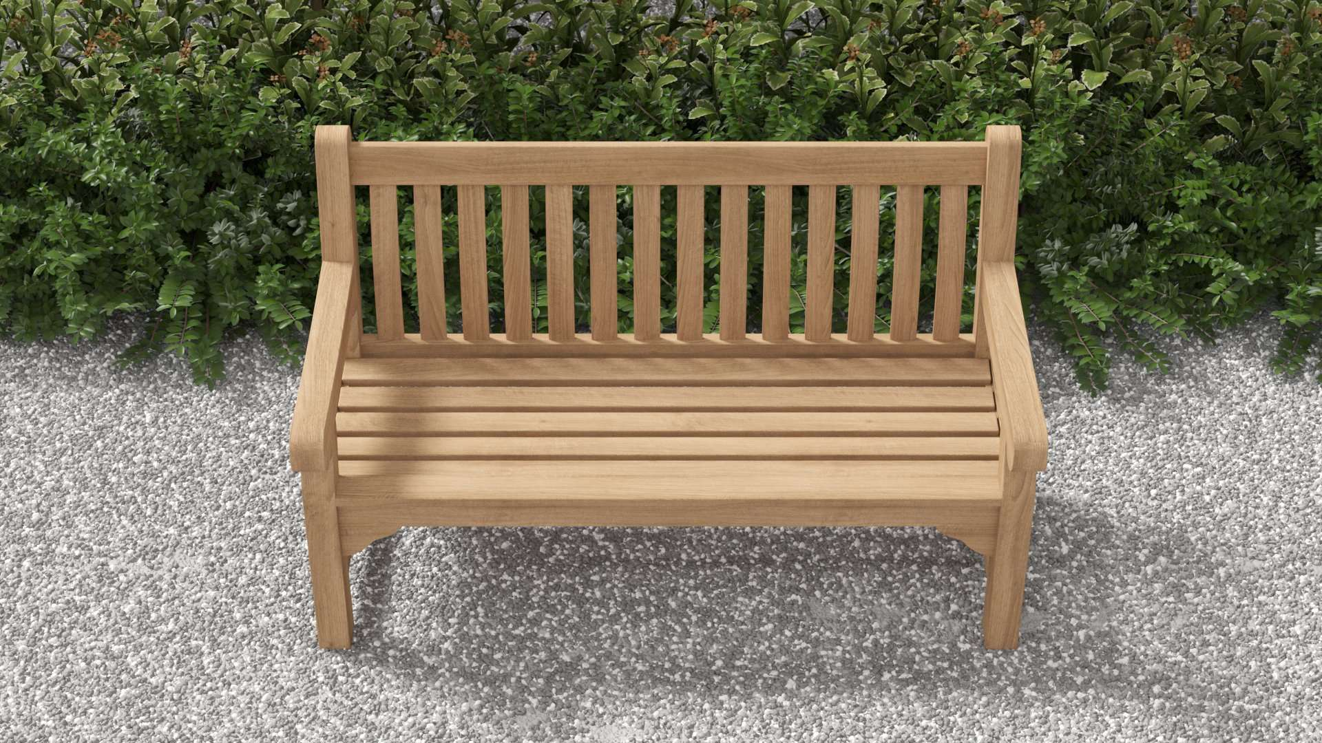 Salisbury Teak Bench 3 Seater  - Chic Teak® | Luxury Teak Furniture