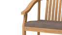 Winchester Teak Garden Carver Chair  - Chic Teak® | Luxury Teak Furniture