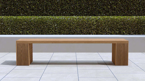 Mayfair Teak Bench Large