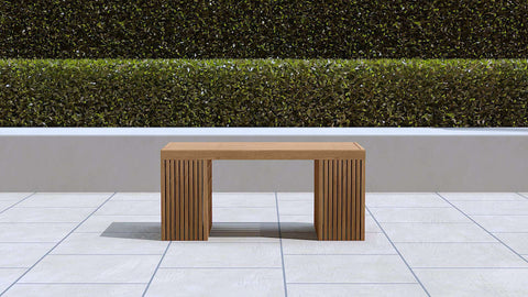 Mayfair Teak Bench Small