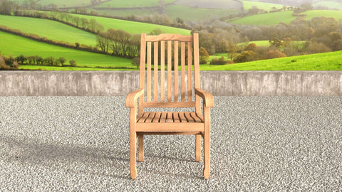 Kensington Teak Garden Carver Chair
