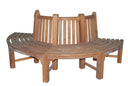 SALE - Semi-Circular Tree Bench 85cm