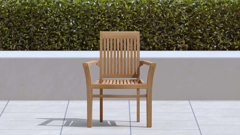 Wells Teak Garden Chair