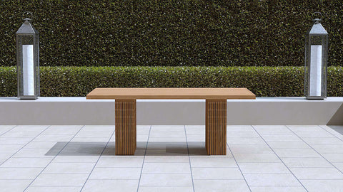 Mayfair Contemporary Teak Dining Table