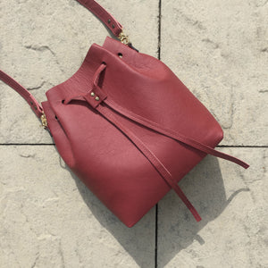 Convertible Bucket Bag