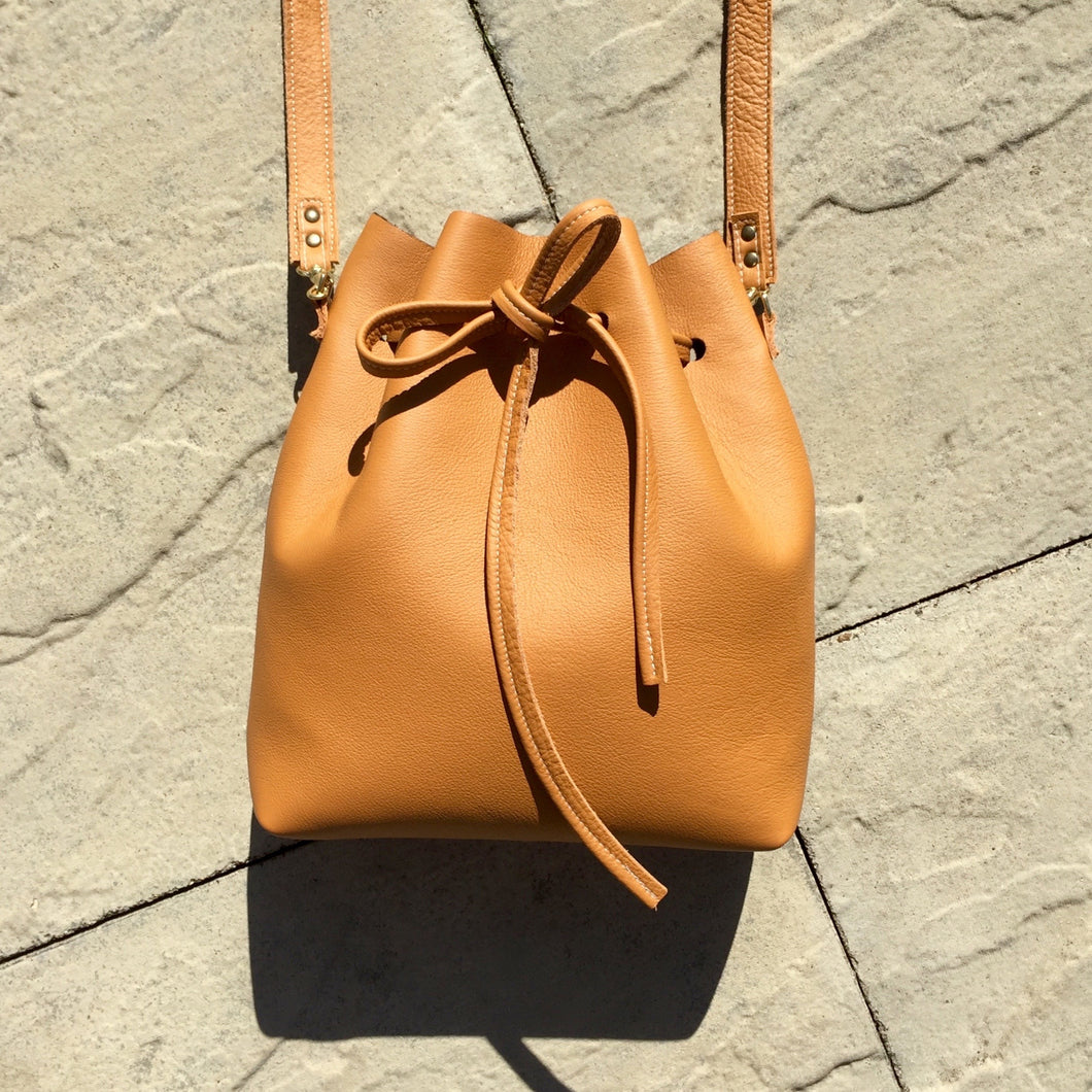 Cinnamon Bucket Bag