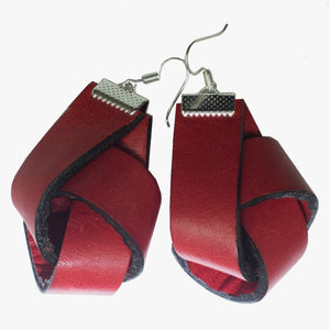 Red Knot Earrings