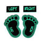 Personalized GITD Baby Foot Patch