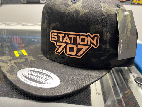 707 MC Black Snapback Flat Bill